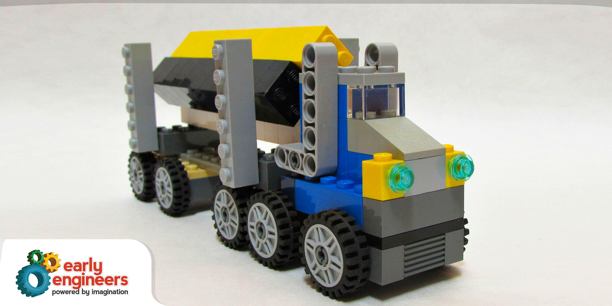 lego logging truck - photo #9